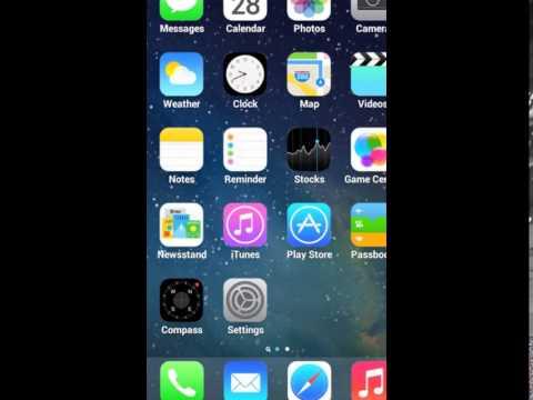 iOS 7 Launcher Retina iPhone 5 apk
