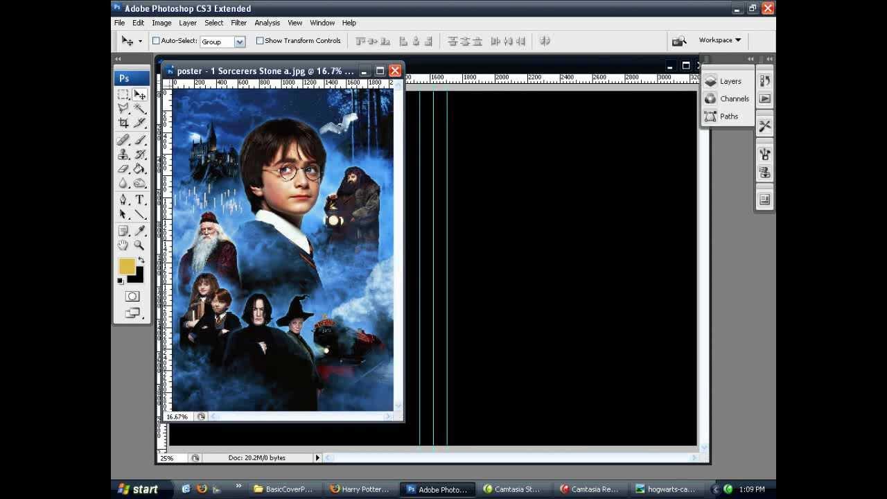 Photoshop Basic Dvd Cover Art Tutorial Part 1 Youtube