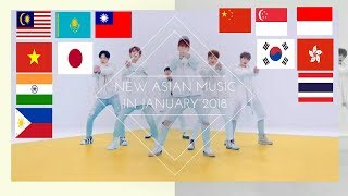 ★Asian music in January 2018★