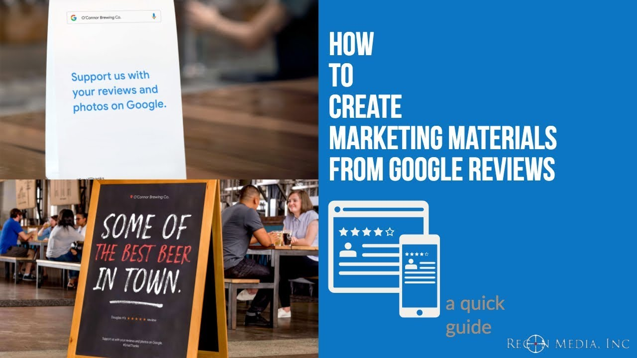 How To Create Marketing Material From Google Reviews | Create Google Review  Social Posts