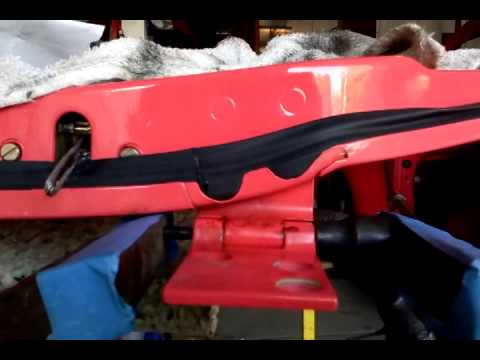 Vw Beetle door pin removal (This video will do the job!)