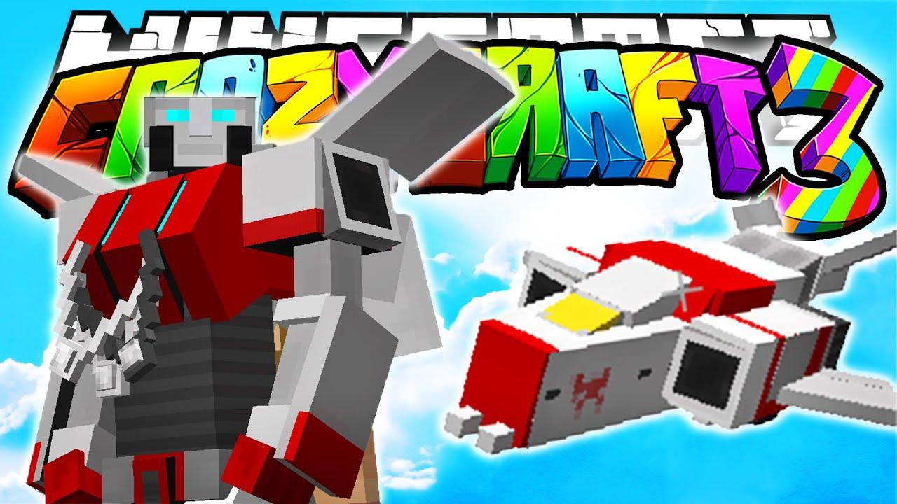 Minecraft crazy craft 3 0 tranformers 22 for Http test voidswrath com modpacks crazy craft 3 0