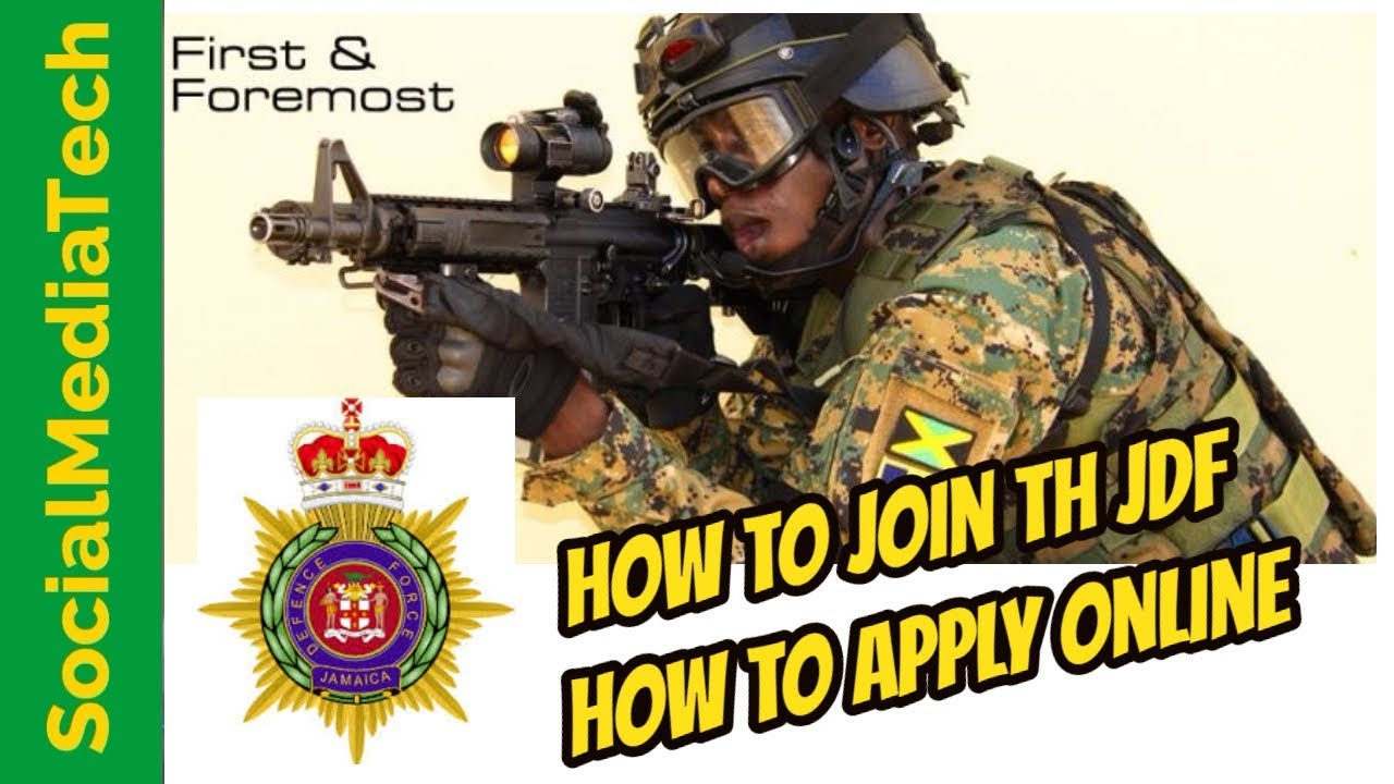 Jamaica Defence Force Application Form Pdf