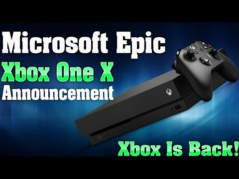 Microsoft Just Made An Epic Xbox One X Announcement! This Proves Xbox Is Back!