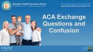 Georgia Health Insurance Exchange Questions