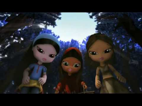 bratz kidz fairy tales round and round movie version