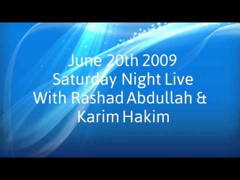 Saturday Night Live with Rashad & Karim [Old recording]