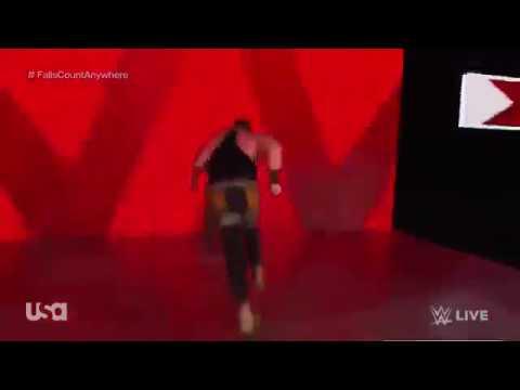 WWE MONDAY NIGHT RAW EXPLOSIVE MATCH