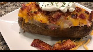 How to Make Loąded Baked Potato   Restaurant Style   Easy to Prepare