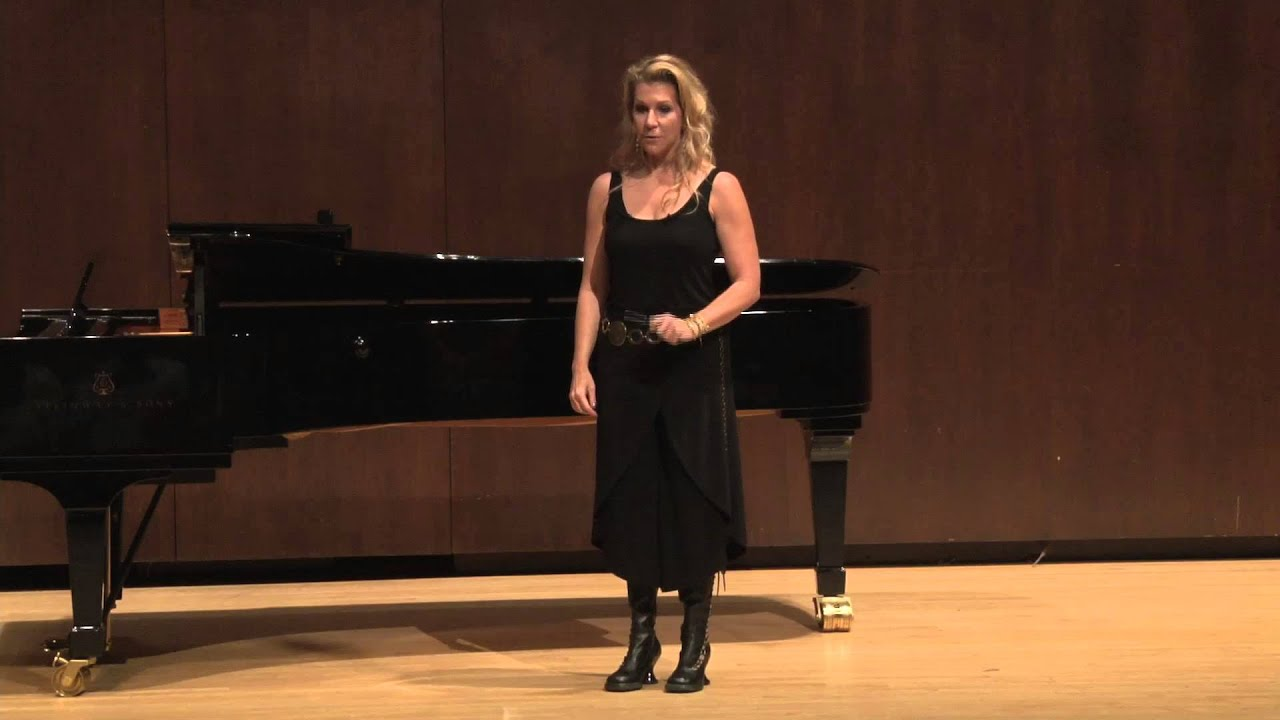Joyce DiDonato Master Class, October 4, 2013: Closing Remarks and Q&A