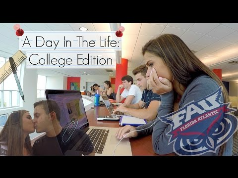 A Day In The Life: FAU College Edition