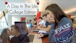 Video A Day In The Life: FAU College Edition download MP3, 3GP, MP4, WEBM, AVI, FLV November 2017