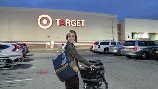 Baby goes to Target
