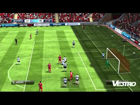 FIFA 13 - Liverpool vs Manchester United Part 1