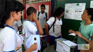 Eleições na Escola Estadual Creusa Barreto Dornela Câmara - CAIC