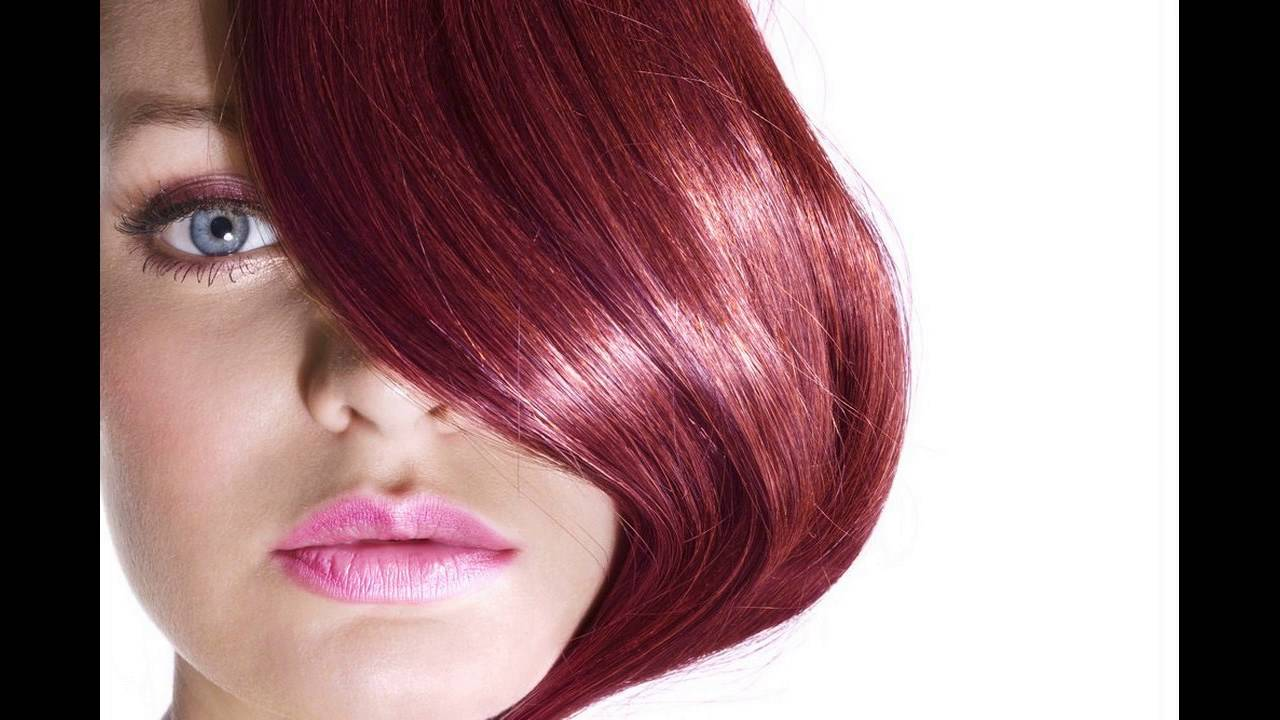 Dark Burgundy Or Cherry Red Hair Color Suits To Which Type Of Skins