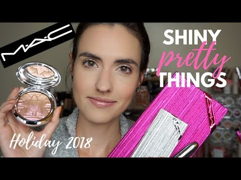 MAC Shiny Pretty Things | MAC Holiday Collection 2018 HAUL + Swatches