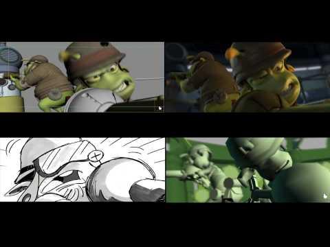 Planet 51 - Animation Progress Reel #1