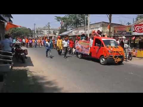 Ram Navami Rally at Raiganj, West Bengal Full Video
