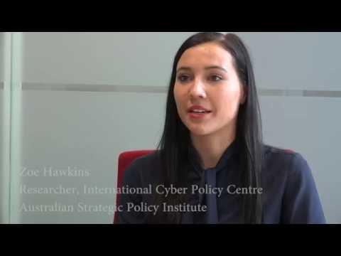 Women in Cyber Security - Zoe Hawkins, Researcher, International Cyber Policy Centre