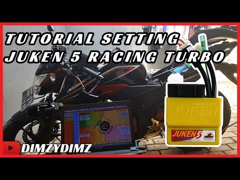 SETTING ECU JUKEN 5 RACING TURBO CB150R CBR SONIC SUPRA GTR (2018)