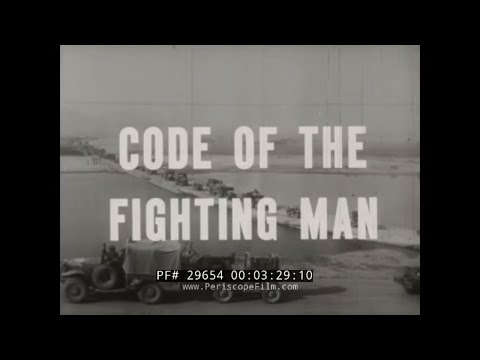 U.S. ARMY CODE OF CONDUCT IN COMBAT  SURRENDER, CAPTURE, P.O.W. TRAINING FILM 29654