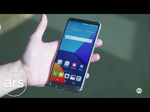LG G6 hands-on preview | MWC 2017 | Ars Technica