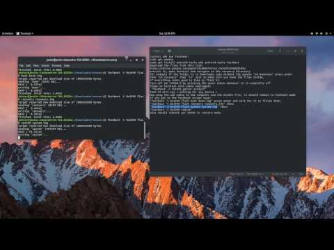 Kindle Fire HD 8.9 Unbrick with Ubuntu/Linux.