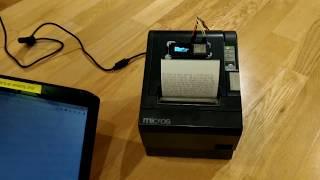 Epson Wifi Receipt Printer