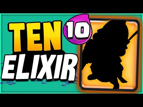 This card is now the ONLY 10 ELIXIR CARD in CLASH ROYALE!!
