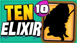 This card is now the ONLY 10 ELIXIR CARD in CLASH ROYALE!! 😱