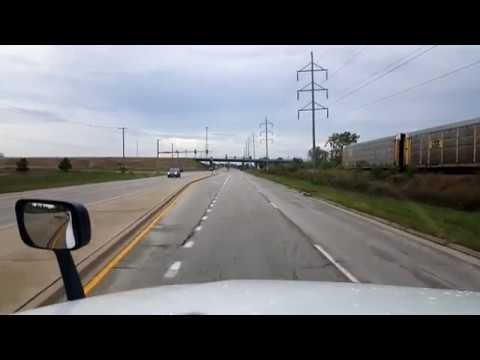BigRigTravels LIVE! Belvidere to Bloomington, Illinois-Interstate 39 South-Oct. 7, 2017