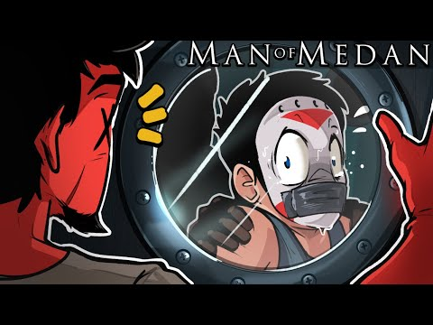 """Man of Medan - """"WE HAVE BEEN KIDNAPPED!"""" Ep. 2 (Delirious' View!!!!) Co-op"""