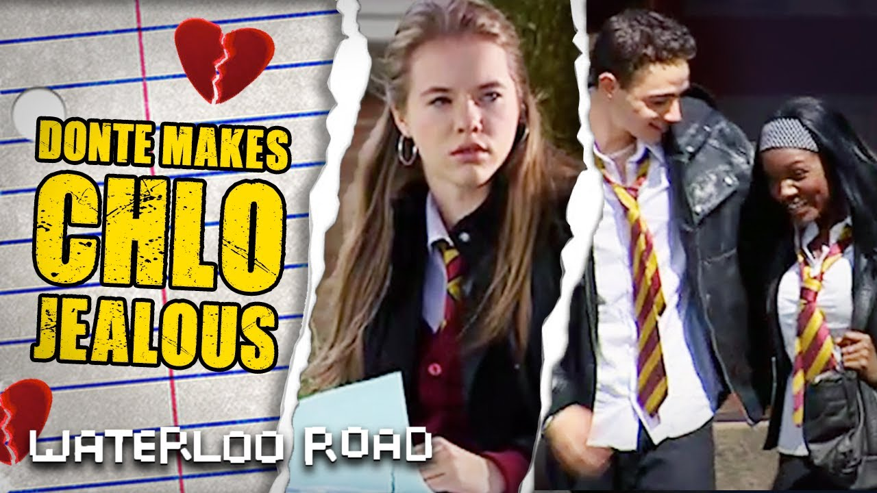A Flirty Donte Charles Asks Out Celine Dixon | Waterloo Road