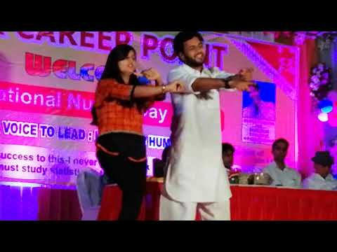 GMR Career Point #Jaipur Dancing Performance By Students
