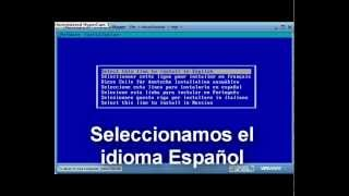 Video Tutorial Instalacion Novell Netware 6.5