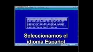 Video Tutorial Instalacion Novell Netware 6.5