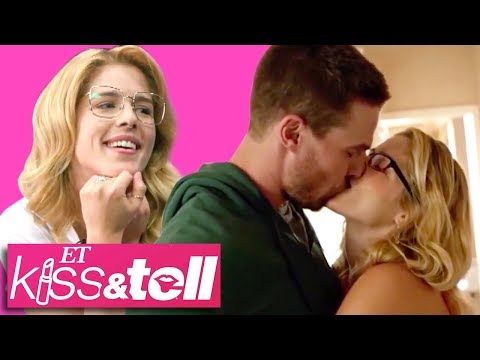 Arrow Star Emily Bett Rickards Reacts To Iconic Olicity Kisses! (Exclusive)
