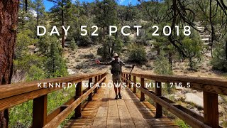 Video Day 52 PCT 2018 thruhike Kennedy Meadows to mile 716.5 download MP3, 3GP, MP4, WEBM, AVI, FLV Mei 2018