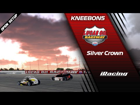 Silver Crown - Lucas Oil Raceway Park - IRacing