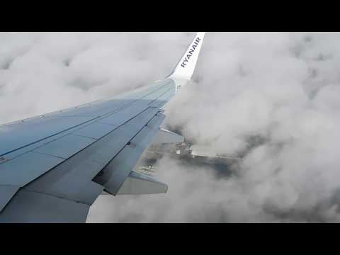 Ryanair Boeing 737-800 missed approach at Liverpool Airport