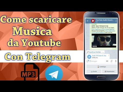 Come scaricare Mp3 e Mp4 da Youtube con Telegram