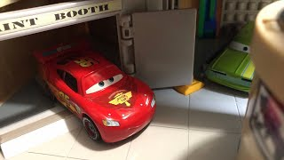 Disney Pixar Cars 2 Getting Ready For The World Grand Prix Remake! • Stop Motion 🌎🏆
