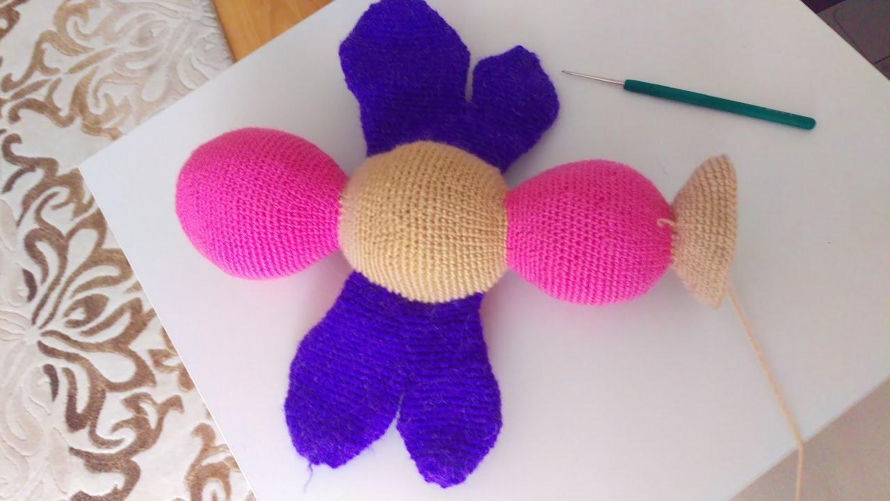 3./Amigurumi Yapılışı - Örgü oyuncak kelebek yapımı anlatımlı ... | 720x1280