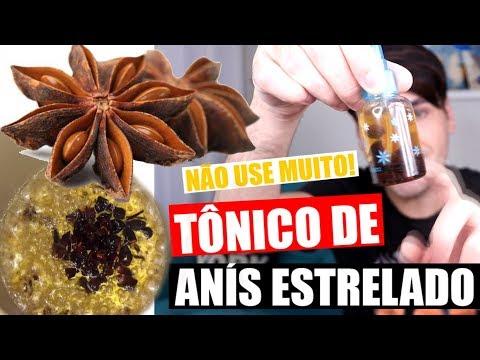TÔNICO DE ANIS ESTRELADO PARA CRESCER RÁPIDO OS CABELOS | CRESCE MUITO