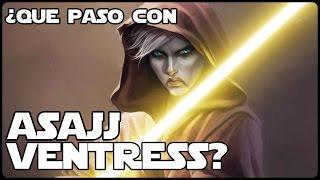 Star Wars ¿Que Paso Con Asajj Ventress? Informacion Completa - Canon