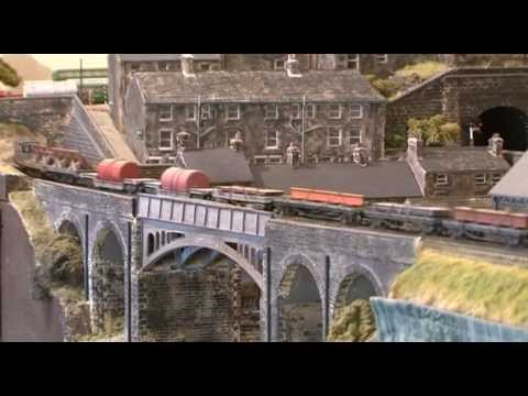 Modelling Railway Train Track Plans -Unmissable OO gauge layout – Tetley's Mills