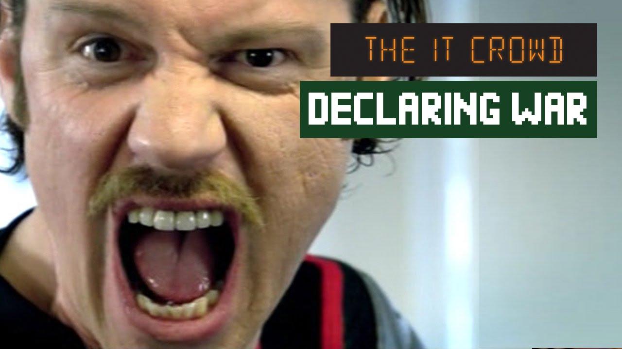 Download I Am Declaring War on STRESS! Denholm The IT Crowd | Series 1 Episode 2