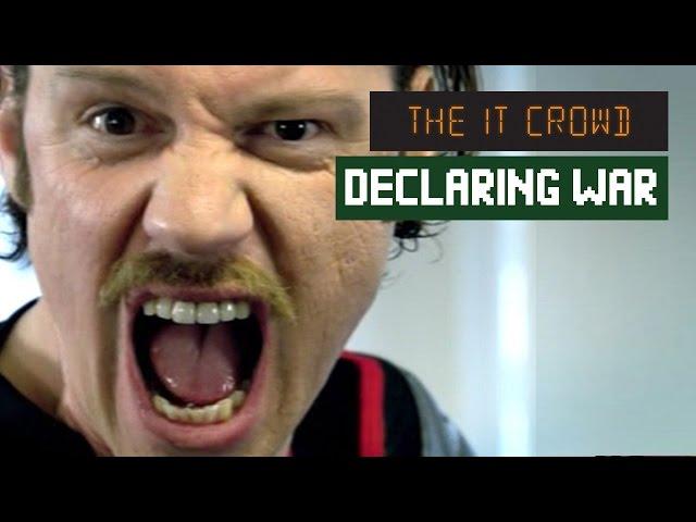 I Am Declaring War on STRESS! Denholm The IT Crowd | Series 1 Episode 2 -  YouTube