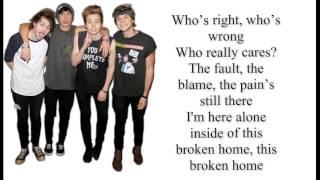 5SOS - Broken Home lyrics HD